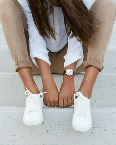 Bege e branco @wespeakfashion