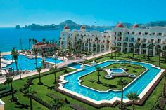 The Hotel Riu Palace Cabo San Lucas - 24hr all-inclusive resort  is without any doubt a hotel with a luxurious service .  As a travel agent, I recommend Riu resorts!  ASPEN CREEK TRAVEL - karen@aspencreektravel.com