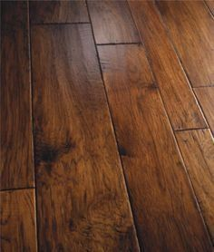 Gorgeous floor. This warm, rich color would look great with cool gray walls, I think.  Laminate Wood Flooring - CLICK PIC for Many Wood Flooring Ideas. #flooring #woodfloor