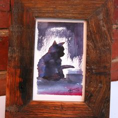 Kitty - Original Artwork AUD $50.00  Original water-colour painting created for the Art for Animals project. For a heartfelt, one-of-a-kind, feel good gift that actually makes a difference - 30% of the purchase price will be donated to Animals Australia.