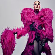 I would wear this...but I think I was probably a drag queen in a past life.