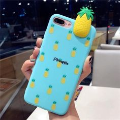 Cartoon Fruit Phone Case For Iphone 6 Cases For Iphone X 8 7 6 Plus Girly Cute Soft Mobile Phone Cover Coque Best Mobile Phone, All Mobile Phones, Best Cell Phone, Cell Phone Covers, Iphone 7, Iphone Cases Cute, Coque Iphone, Free Iphone, Iphone Secrets
