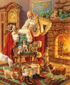 Father Christmas, Santa Christmas, Xmas, Christmas Feeling, Christmas Horses, German Christmas, Christmas Store, Christmas Pillow, Winter Christmas