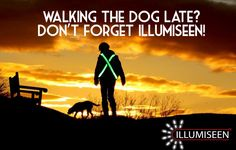 Illumiseen isn't just for cyclists, it can be an invaluable tool in securing your safety when walking your four-legged friend too!  Take advantage of a 40% discount now available here: http://amzn.to/1uBE0hL  #AmazonDeals #Illumiseen #DogWalking #PetAccessories