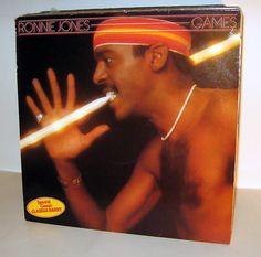 RONNIE JONES -  Games *JupiterRec.6.2* LP MINT