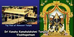 Sri Kanaka Mahalakshmi Ammavari Temple, Timings, Prasadams, Pooja Details | Temples In India Info