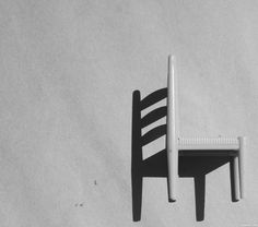 Shadow or Chair picture, by frelbow for: bw chairs photography contest Chair Photography, Shadow Photography, Reflection Photography, Creative Photography, Black And White Aesthetic, Black N White, Chair Pictures, Cool Pictures, Neutral Wallpaper