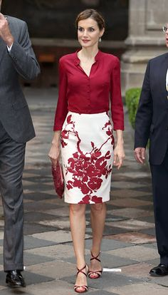Queen Letizia Ortiz Rocasolano is the Queen of Spain as the wife of King Felipe VI