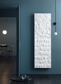Olympia Vertical radiator: a good looking stone radiator with a rustic design. It has a natural effect. This comfortable and energy efficient designer radiator is suitable for different heating types and is available in any RAL Classic colours. Mirror Radiator, Radiator Ideas, Decorative Radiators, Bathroom Radiators, Central Heating Radiators, Vertical Radiators, Olympia, Electric Radiators, Designer Radiator