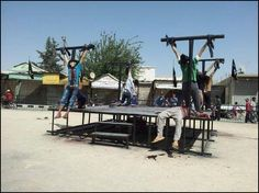 ISIS Crucifies 8 Christians in Syria for Apostasy From Islam | sharia unveiled
