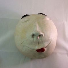 Ceramic Snow Ball - Mr. Eyebrows