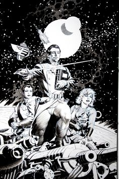 """""""Keeper of Histories"""" by Mark Schultz. [Also used as """"Deathstalker"""" cover art?]"""