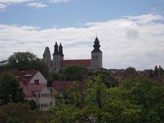 Visby, the largest city on the island of Gotland, gives visitors a chance to explore one of the most well-preserved medieval cities in Sweden.