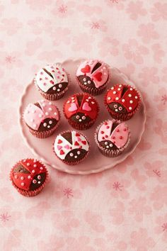 These adorable cupcakes are sure to warm your sweetie's heart and stomach! Get the recipe.