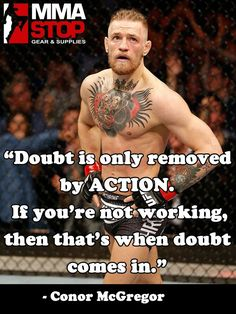 Are you ready for this weekend's fights?! Conor McGregor sure is! #UFC #MMA - uploaded by #MMAStop