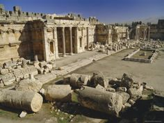 The history of settlement in the area of Baalbek dates back about 9,000 years