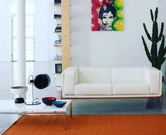 PIC OF THE WEEK ON OUR INSTAGRAM OFFICIAL PAGE! Follow us on https://www.instagram.com/matrixinternational #whiteinteriors #designgram #eerosaarinen #gmtechcenter #whitetable #whitesofa #instadesign #leathersofa