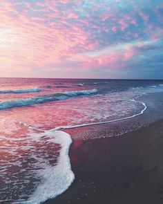 I love the ocean and the sounds of the waves