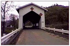 Cavitt Creek Bridge  -- Douglas County, Oregon