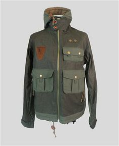 FISHERMANS JACKET - GREEN Online or in-store - The Allotment Store