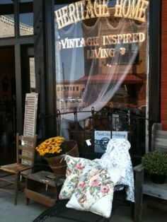 Heritage Home -Vintage Inspired Living Store Front