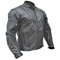 Shadow Maelstrom Leather Jackets - Black - Non Perforated  compacc.com