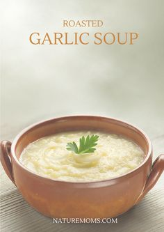 I love cooking with garlic. Lots of garlic. Luckily this yummy soup does indeed have lots of garlic...two wholeheads actually. What is that...20-30 cloves? You just can't have too much.I like to make this recipe when it is cold because it is very warming