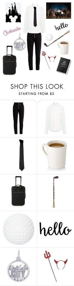 """""""Elder Price - Book of Mormon"""" by beckybesel ❤ liked on Polyvore featuring Balenciaga, Sea, New York, Versace, Mark Cross, Mario Luca Giusti and Rembrandt Charms"""