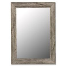 Wildon Home Mirror with Grey Liner in Antique Weathered Grey