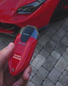 Purple Ferrari LaFerrari Touch ID key concept. Tag a friend who would love this! __________ Insane work by ! Ferrari Laferrari, Ferrari Car, Maserati, Lamborghini Cars, Lamborghini Gallardo, Mclaren P1, Bugatti Veyron, Koenigsegg, Land Cruiser