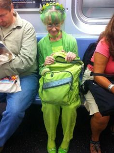 Elizabeth Sweetheart from Nova Scotia.  The woman in green!