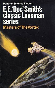 Lensman Series - LOVE the cover art - read as a kid..cover art was awesome and I still think so today! Book 7