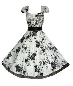 Pretty Kitty Fashion - Robe - Blanc et Fleurs Noir (4xl = 50) Pretty Kitty Fashion http://www.amazon.fr/dp/B00JHZKZ04/ref=cm_sw_r_pi_dp_CMcVtb1ZPABHRP3E