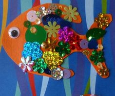Sparkle Fish Kids Craft