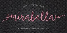 Mirabella Script Font  at fontalizer.com