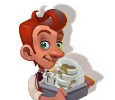 Big Chef Online Slot launches at Euro Palace Casino in May 2015 - visit www.europalace-casino.com for more details Character Concept, Concept Art, Big Chefs, Cartoon Characters, Fictional Characters, Slot, Mario, Product Launch, Palace