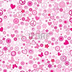 39494715-rosa-flower-power-nahtlose-hintergrund.jpg (450×450)