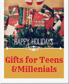 7 ways to pile up christmas money do it yourself christmas presents making a list and checking it twice for gifts for teens millennials it is solutioingenieria Image collections