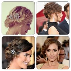 Soft Elegant Hair Up-Styles
