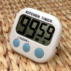 Large LCD Kitchen Cooking Timer Count-Down Up Clock Loud Alarm Magnetic Free Shipping