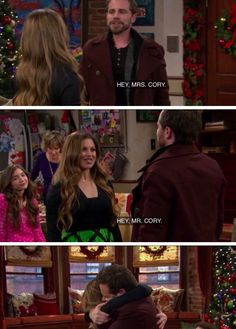 "So happy I have kids to ""make me"" watch Girl Meets World! ;)"