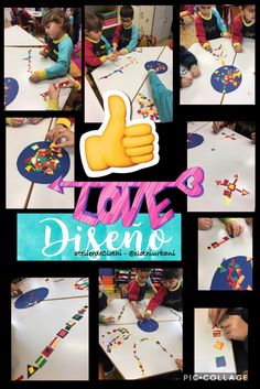 Diseñamos con diferentes elementos artísticos