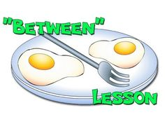 """""""Between"""" - Preposition Lesson for Kindergarten Teachers Kids English, Learn English, Classroom Tools, Speech Pathology, Prepositions, Kindergarten Teachers, Educational Videos, Learning Resources, Teaching English"""