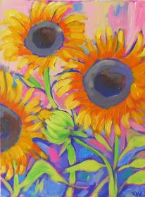Kristina Wentzell Fine Art: follow the sun