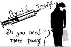 Image result for against drugs