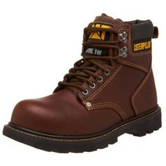 Caterpillar Men's 2nd Shift 6″ Steel Toe Boot A good hardworking and comfortable boot for daily wear, the Caterpillar Men's 2nd Shift 6″ Steel Toe Boot comes in two versions – either as steel toe work boots or with a soft front. Available in plenty of colors, tough and versatile, it is designed for heavy industrial purpose without sacrificing on sporty looks. Uses nylon lining, nubuck uppers, goodyear welt construction and sock liner for breath ability.