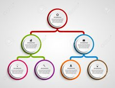 Infographic Design Organization Chart Template. Royalty Free Cliparts, Vectors…