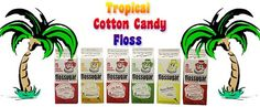 Cotton Candy Flossugar Case of 612 Gallon CartonsTropical Flavors * Want additional info? Click on the image.