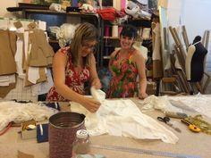 Wedding dress making