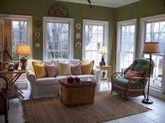 sunroom ideas | Sunroom Pictures, Sunroom Decorating, Pictures of Sunrooms